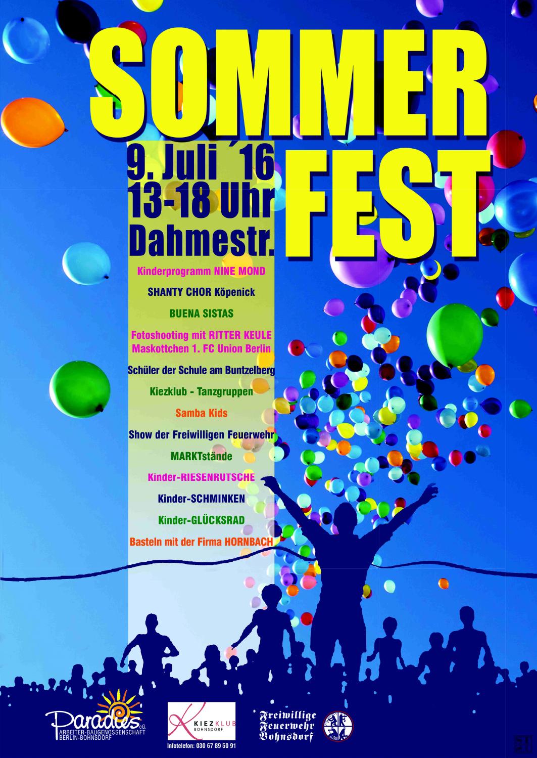 Plakat 5. Kinder und Familienfest