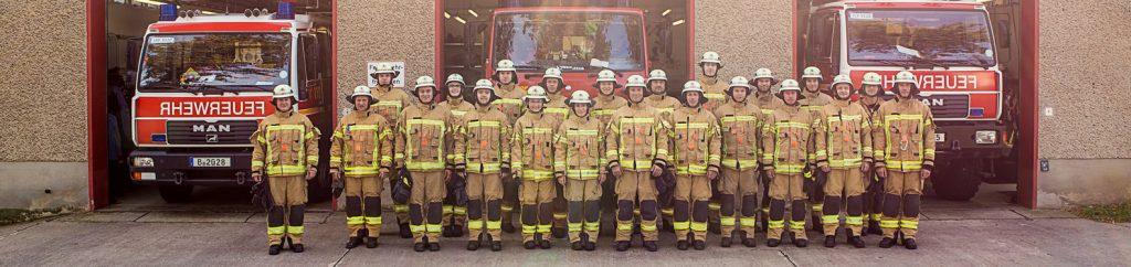 Mitglieder der Freiwilligen Feuerwehr Bohnsdorf